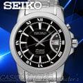 SEIKO 精工 手錶 專賣店 SNQ141P1 男錶 石英錶 不鏽鋼錶帶 黑色錶盤 藍寶石水晶 防水 全新品 保固一年 開發票