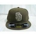 新莊新太陽 MLB 美國職棒 大聯盟 NEW ERA 5711345-015 聖地牙哥 教士隊 選手 球員帽 咖啡色 特1200