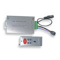 LED七彩控制器 DC12~24V驅動 (含RF6鍵遙控器) / 無線跳機 / 5050 RGB 七彩燈條專用