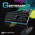 B.FRIEND GK3(標準版)7色LED發光遊戲鍵盤