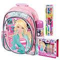 芭比Barbie 魔力甜心新生書包文具組(粉紅)(BLA270271CP)