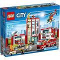 樂高積木LEGO《 LT60110 》2016 年CITY 城市系列 - 消防局 ╭★ JOYBUS歡樂寶貝