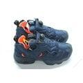 【高冠國際】 REEBOK INSTA PUMP FURY TECH 充氣 防彈布 慢跑鞋 深藍 藍 橘 V63499