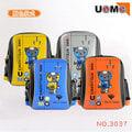 【送UNME筆袋】【UnMe】 台灣製 輕量兒童鏡面護脊書包 學生後背書包 3037A