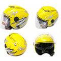 【彩虹小舖】 ZEUS 瑞獅 202FB T41 3/4罩 內藏墨鏡式 半罩式安全帽 全可拆內襯