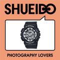 集英堂写真機【全國免運】CASIO 卡西歐 G-SHOCK GA-110BW-1A JF 指針 數位 雙顯錶 // 黑色 平輸 / 一年保固
