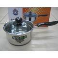 勝德 不銹鋼奶鍋 單柄小鍋/ 湯鍋 煮面鍋 煮奶鍋16厘米.
