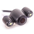 ☆ LT7 ☆ 分離式 行車記錄器專用 雙鏡頭 防水後鏡頭/倒車觸發 130度/LED補光 鏡像