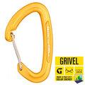 【義大利 Grivel】K2W Gamma Wire 鍛造直口鉤環(CE認證)適登山 冰攀雪攀 攀岩/非Petzl Camp (1入) 金 RSK2W