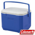 Coleman 15L Excursion行動冰箱/冰桶 保冷袋/釣箱/收納保冷筒 建議搭冷媒 公司貨 CM-27859 海洋藍