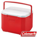 Coleman 15L Excursion行動冰箱/冰桶 保冷袋/釣箱/收納保冷筒 建議搭冷媒 公司貨 CM-27860 美利紅
