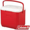 Coleman 28L Excursion行動冰箱/冰桶 保冷袋/釣箱/收納保冷筒 建議搭冷媒 公司貨 CM-27862 美利紅