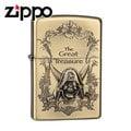 【詮國】Zippo 日系經典打火機 - 骷髏海盜限量版 / 藏寶圖蝕刻圖紋 (銅色款) 2ZT-GT/BA / ZP495