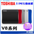 Toshiba Canvio Connect II V8 1TB USB3.0 2.5吋行動硬碟 五行碟