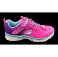 【MYVINA 維娜】SKECHERS 女童鞋 童鞋 跑鞋 休閒鞋 走鞋 運動鞋 超輕量 81702LNPPR