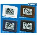 CASIO 卡西歐 鬧鐘專賣店 DQ-982N 數位電子型鬧鐘 溫、濕度顯示 黑 藍 咖 白 四色