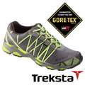Treksta SYNC II 男 Gore-Tex GTX 防水低筒健行鞋 短筒登山鞋 慢跑鞋 蘋果綠 |戶外|KR16BMB