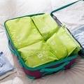 木暉防水旅行收納袋整理洗漱鞋袋韓國行李箱內衣物收納包5件套裝