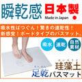 Fujiwara 藤原 矽藻土 珪藻土 衛浴 踏墊 自然素材 抗菌 日本製 足乾浴室地墊 踏墊