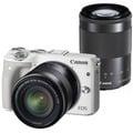 ☆天辰3C☆中和 單眼相機 Canon EOS M3 變焦雙鏡組 搭配 攜碼跳槽 台灣大哥大 4G 998 方案