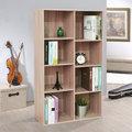 《Hopma》淺橡木色經典八格書櫃/收納櫃