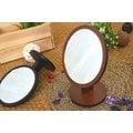 【原木桌鏡】大款原木圓型桌鏡 原木 圓鏡 桌鏡 立鏡 鏡子