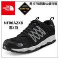 【登山屋】The North Face 男 GT低筒登山健行鞋 Gore-Tex/慢跑鞋/登山鞋/越野鞋/運動鞋 NF00A2X8 黑/白