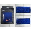 新莊新太陽 NIKE NTTC5486NS 日系 LOGO 運動 毛巾 藍色 適合戶外運動 訂價750 特價600