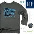 【大盤大】Baby GAP 兒童 長袖T恤 4歲 純棉100% 汽車 圖T 百貨 專櫃 正品 小孩 孩童 針織上衣 小童