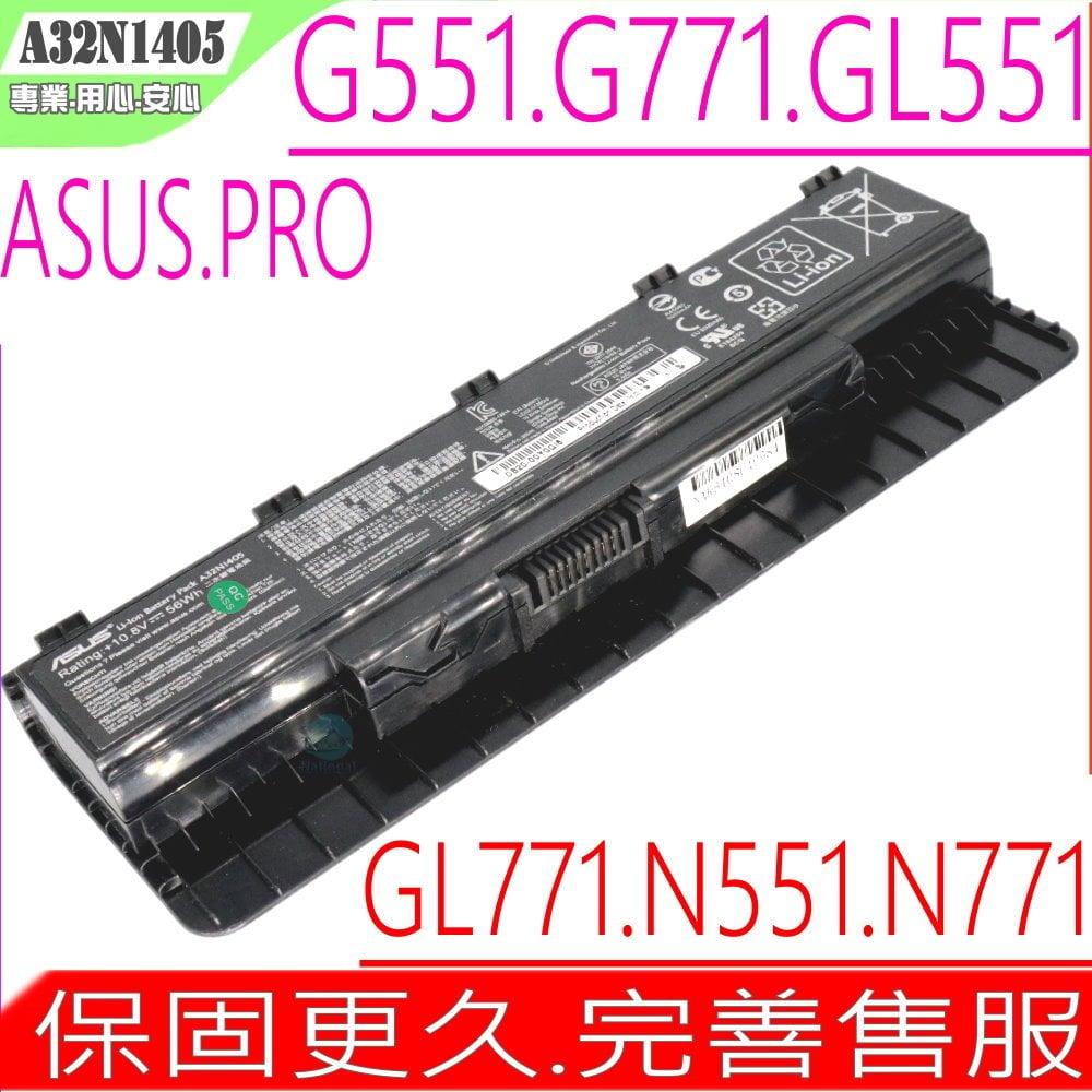 ASUS 電池(原廠)-華碩 N551電池,N551J, N551JB, N551JK, N551JM,N751電池,N551JN, N551JQ, N551JX, N551JW, N551Z,A32..