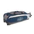 「野球魂」--「Louisville」【314 RG】系列滾輪裝備袋(LEBS314RGNV,深藍色)可放4支球棒