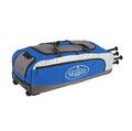 「野球魂」--「Louisville」【314 RG】系列滾輪裝備袋(LEBS314RGRL,寶藍色)可放4支球棒