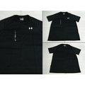 新莊新太陽 UNDER ARMOUR 1228539-001 HG Tech 寬鬆型 運動 短袖 上衣 T恤 黑 品質價880