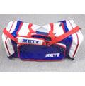 「野球魂」--「ZETT」大型遠征袋(BAT-66N,寶藍×白色)