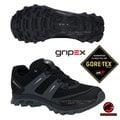 【瑞士 MAMMUT 長毛象】男新款 MTR 71 Trail Gore Tex 超輕量透氣多功能運動休閒鞋(黃金避震).登山健行/Gripex鞋底/02961-0040 灰/黑