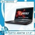 MSI 微星 GP72 6QF-484TW ( i7-6700HQ/GTX960M-4G/128G SSD+1TB ) 電競 筆記型電腦
