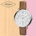 FOSSIL 手錶 專賣店 ES3708 女錶 石英錶 真皮錶帶 防水 全新品 保固一年 開發票