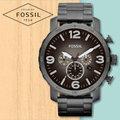 FOSSIL 手錶 專賣店 JR1437 男錶 石英錶 不鏽鋼錶帶 防水 全新品 保固一年 開發票