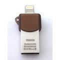 iDrive LX-602 32GB/32G 隨身碟 Apple Lightning(8 pin)/USB 兩用 iPod/iphone/iPad/電腦用 長3.8公分超迷你 iPhone 6/6s/..