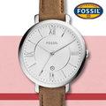 美國 FOSSIL 手錶 專賣店 ES3708 女錶 石英錶 真皮錶帶 防水 全新品 保固一年 附原廠鐵盒