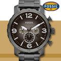 FOSSIL 手錶專賣店 JR1437 男錶 石英錶 不鏽鋼錶帶 防水 全新品 保固一年 附原廠鐵盒