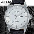 ALBA 雅柏 手錶專賣店 AV3335X1 男錶 石英錶 褐色真皮皮革錶帶 星期 日期 全新品 保固一年