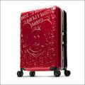 加賀皮件 Deseno Disney 迪士尼 米奇 1928復古浮雕 多色 鋁框 28 吋行李箱 旅行箱 DL8655