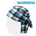 漁拓釣具 SHIMANO AC-018P BLUE S CHECK F/ 頭巾