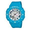 CASIO BABY-G/流行時尚運動錶/藍/BGA-170-2BDR