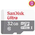 SanDisk 32GB 32G microSDHC Ultra【80MB/s】microSD micro SD SDHC UHS-I UHS C10 SDSQUNS-032G 手機記憶卡