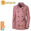 丹大戶外【Wildland】荒野 女款 RE時尚透氣抗UV風衣外套 0A31997-28 珍珠粉