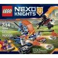 LEGO 樂高~NEXO KNIGHTS 樂高未來騎士團系列~Knighton Battle Blaster 騎士王國飛盤發射車 LEGO 70310 (68200299)