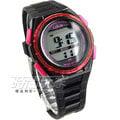 Lotus 時尚錶 流行電子腕錶 女錶 矽膠錶帶 黑/桃紅 TP1316L-01A黑桃