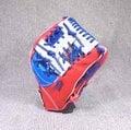 「野球魂」--「KAULIN」【店家特製】硬式棒球手套(內野手,藍×紅色)
